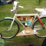 Have bike will travel.