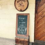 Copper Fox Distillery welcome