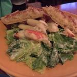 Crab Caesar Salad