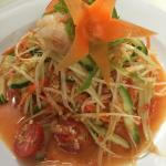 Thai Papaya Salad with Prawns
