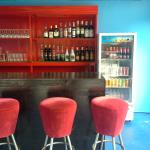 New bar downstairs