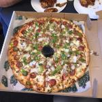Awesome pizza and wings