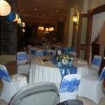 Dinner decor at Terrace