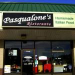 Entrance to Pasqualone's Ristorante