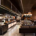 Urban Kitchen Buffet and Dining Area