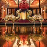 Wynn Macau lobby details