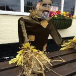 The friendly scarecrow