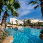Vue générale Hotel piscine extérieure