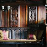 Panelling in the Top Bar, The Durham ox