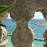 View from breakfast balcony