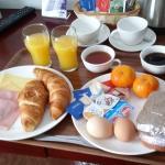 Это завтрак на двоих