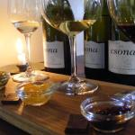Taste the Difference vertical wine tasting with Lindt chocolate pairing