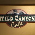 Wild Canyon Cafe, right on the resort!  You can't beat the convenience, especially when everybod