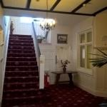 The entrance hall - a warm welcome received
