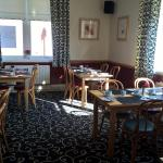 The Dining and Breakfast room in the morning sunshine