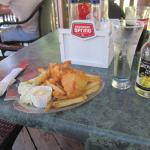 1 Piece Halibut & Chips with Pear Cider