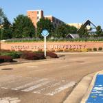 JSU Campus Front Entrance - HBCU Jackson MS