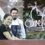 Os chefs Bárbara Verzola e Pablo Pavón, Soeta.