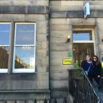Outside of the Inverleith Hotel