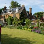 Beautiful Uplands House grounds.