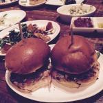 Lamb burgers!