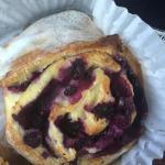 Huckleberry roll - YUM!