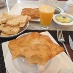 Exemple de petit déjeuners préparés avec amour tous les matins