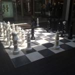 Huge chess board