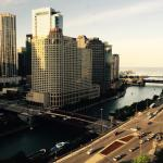 Window View - Hyatt Regency Chicago Photo