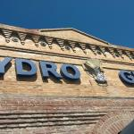 Hydro sign