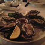 Orongo Bay Oysters with Mignnonette Sauce