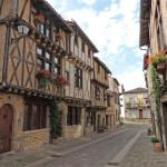 Quartier St-Jacques just down the road from the Grand Logis