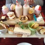 Delicious afternoon tea for 2