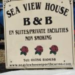 B&B sign-Car Park- Front view