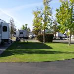 End Unit RV Site