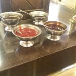 The open containers of sauce that sit all day in this establishment.. ��