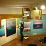 Renowned gallery artist Norman R Brown