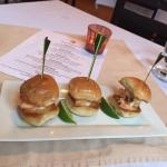 Lobster sliders that melt in your mouth!