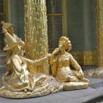 Golden kitsch in Chinese Pavilion