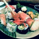 Sushi at Sakura Hibachi Buffet