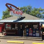 The Otis Cafe. Don't drive by without stopping here.