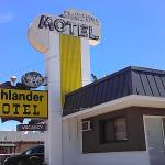 cozy kitschy clean motel on Route 66