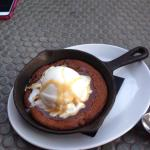 Hot Cookie with Ice Cream