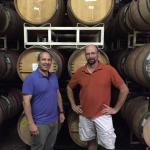 Owner Michael Shaps with Head Winemaker Jake Busching