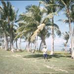 Tumon Bay, det var här själva landstigningen skedde när amerikanarna återtog Guam.