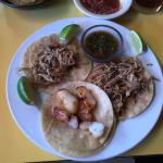 Chile Relleno and Street Tacos plates