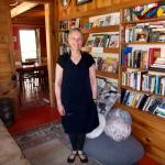 The innkeeper in the library