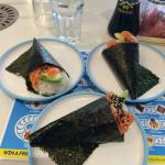 The Salmon and Avocado Hand Roll
