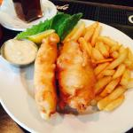 Fish and Chips, lunch portion
