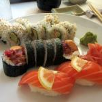 Sushi Mambo, Lincoln Avenue, Calistoga, Ca  - Lunch E